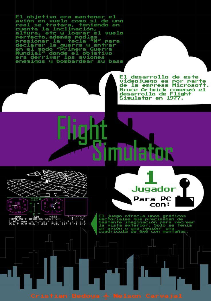 Flight Simulator: Cristian Bedoya - Nelson Carvajal