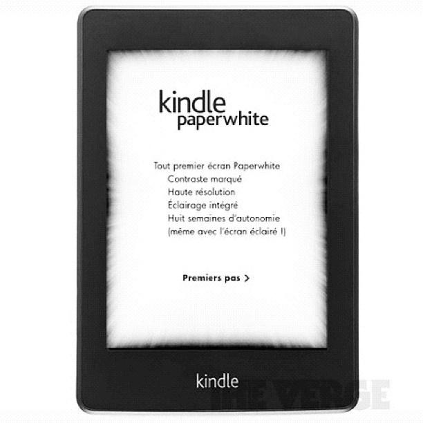 Amazon introduced new kindle white! - @elephanti