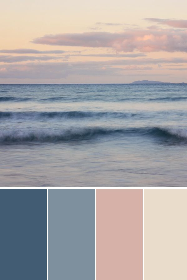 Ocean At Sunset Stock Photo In 2020 Summer Color Palette Beach