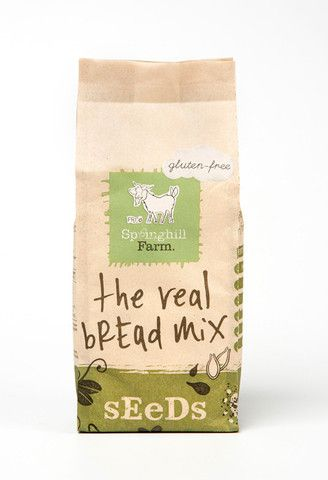 Springhill Farm - Gluten Free - The Real Bread Mix - Seeds