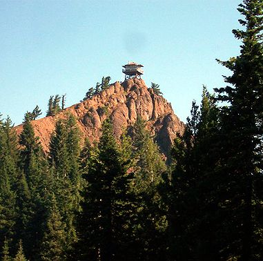 Red Top Lookout. An easy 2 mile hike roundtrip...great for kids. Cle Elum area. Great June - October.