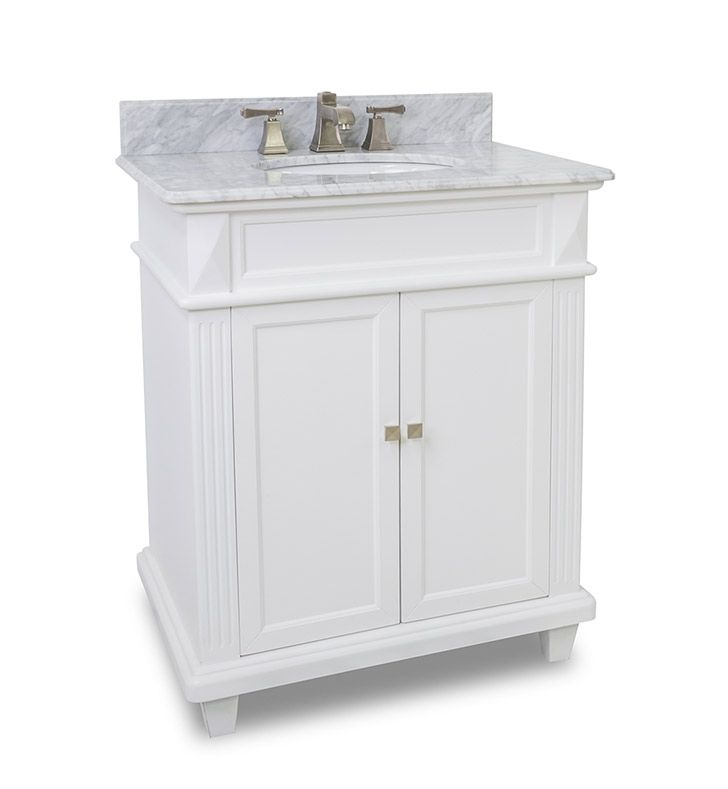 Pic On Price Elements inch Douglas Classic White Bathroom Vanity
