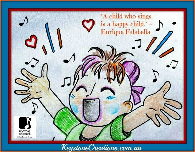 Image result for children who sings are happier images