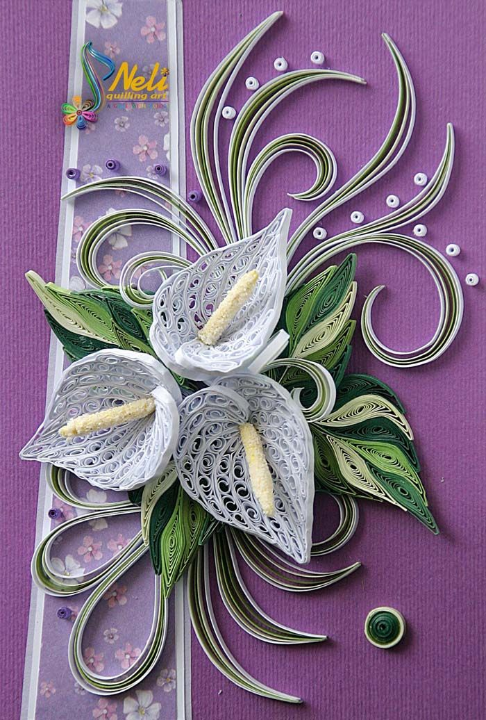 100 best paper quilling cards  beautiful photos