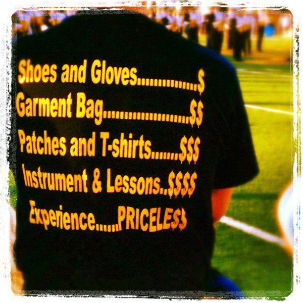 Marching Band... Priceless. Probably will use this someday!