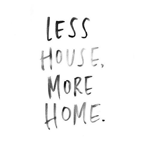 Word!  #cpadlifestyle #cpadmusing #lesshouse #morehome #live #createahome #becausespacematters :camera: #society6