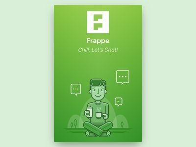 Frappe Chat App Splash Screen