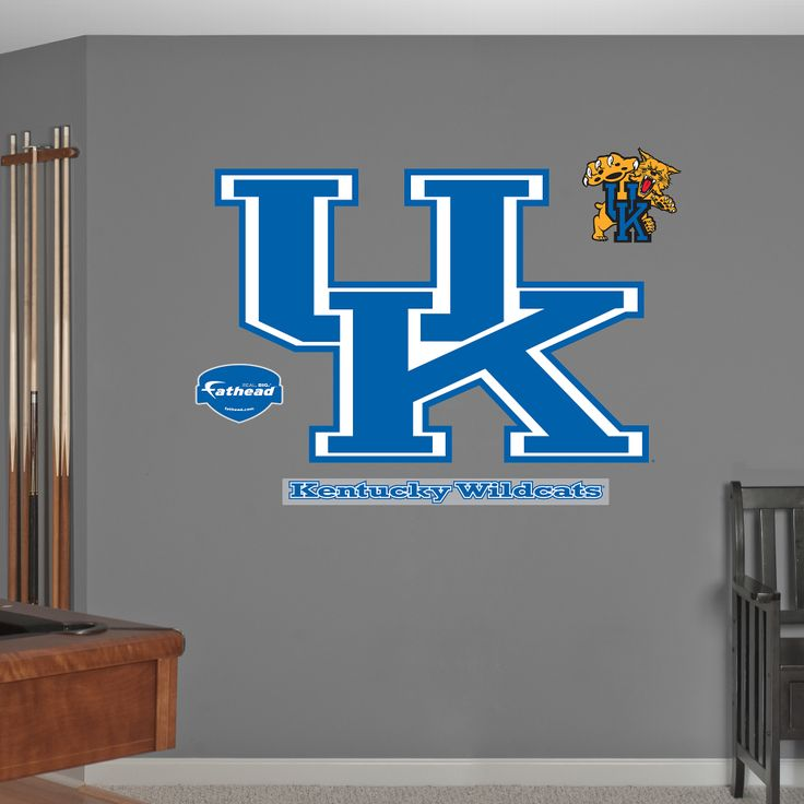 Kentucky Wildcats Logo. Need to get for the boys new bedroom