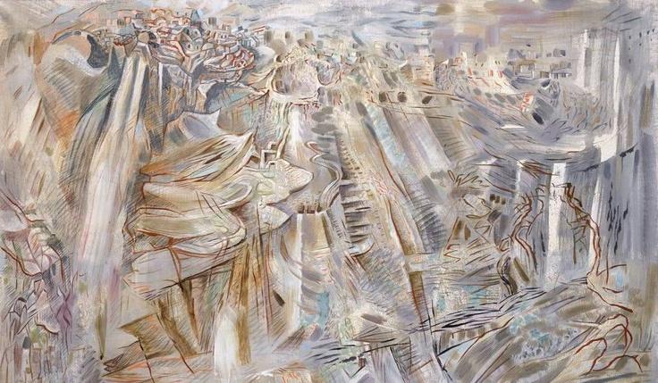 Κορυφαίο έργο της δημοπρασίας αναδείχτηκε το «Γκρίζα Σαντορίνη» του Χατζηκυριάκου-Γκίκα, πιάνοντας 115.250 λίρες  Τελικά, κορυφαίο έργο της δημοπρασίας αναδείχτηκε ένα άλλο έργο του Χατζηκυριάκου-Γκίκα, το «Γκρίζα Σαντορίνη», πιάνοντας 115.250 λίρες, λίγο περισσότερο από την κατώτερη τιμή εκτίμησης (100.000 ?150.000 λίρες). Χαμηλότερα από την κατώτερη τιμή εκτίμησης πωλήθηκαν τα «Νυχτερινά σπίτια στην Αθήνα» του Γκίκα.  http://www.ethnos.gr/article.asp?catid=23135=2=63668948
