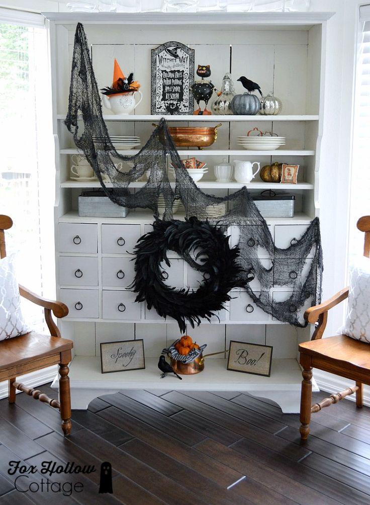 Spooky Chic Halloween Home Decorating Pinterest Dias Festivos