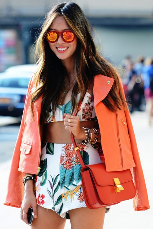 Summer's here! Bring out the tropical prints!