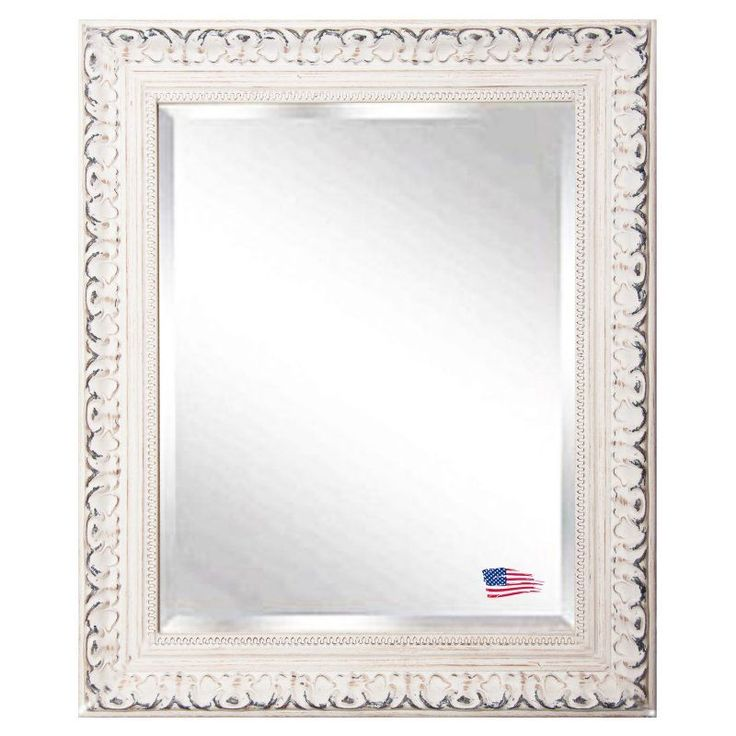 Rayne Mirrors French Victorian White Wall Mirror - R039ML2