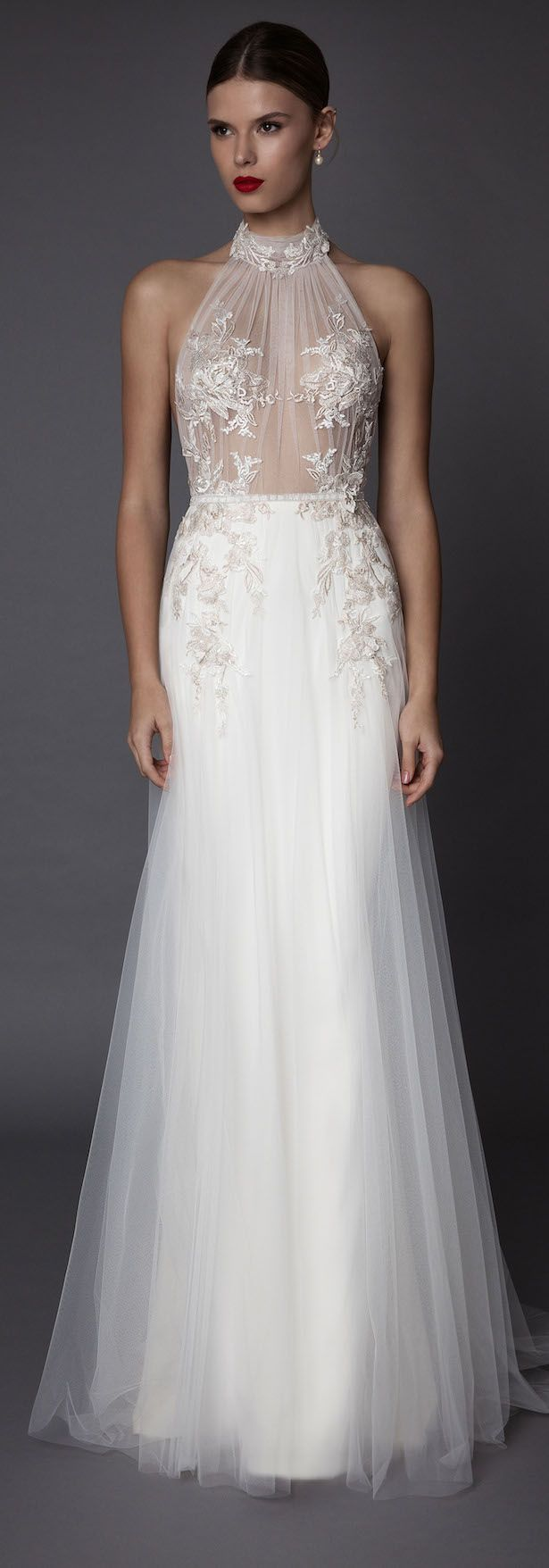 MUSE by Berta Fall 2017 Bridal Collection presents feminine wedding dresses with modern vibes. They are a dream come true for the fashion-forward bride.