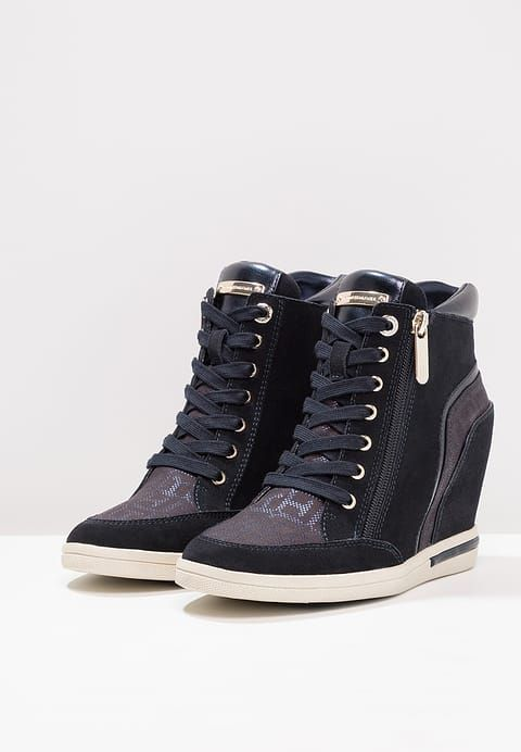 Tommy Hilfiger High-top trainers - blue for £119.99 (14/10/17) with free delivery at Zalando