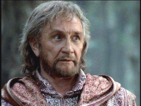 """Roy Dotrice as Zeus from """"Hercules: The Legendary Journeys"""" starring Kevin Sorbo."""