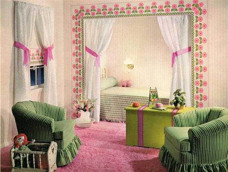 79 Best 1950s Art Moderne Girls Bedroom Images On