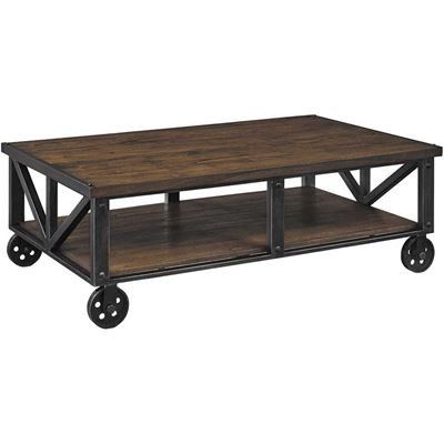 Show details for Zenfield Rectangular Cocktail Table