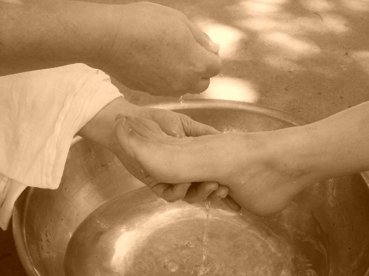 images of foot washing   Are You Denied or Approved?