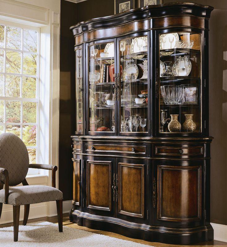Preston Ridge Buffet And Hutch By Hooker Furniture