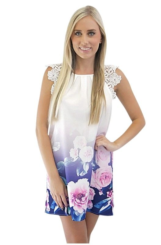 Colour Me Pretty Shift Dress- Buy Women clothing online at low prices at Mocahs.
