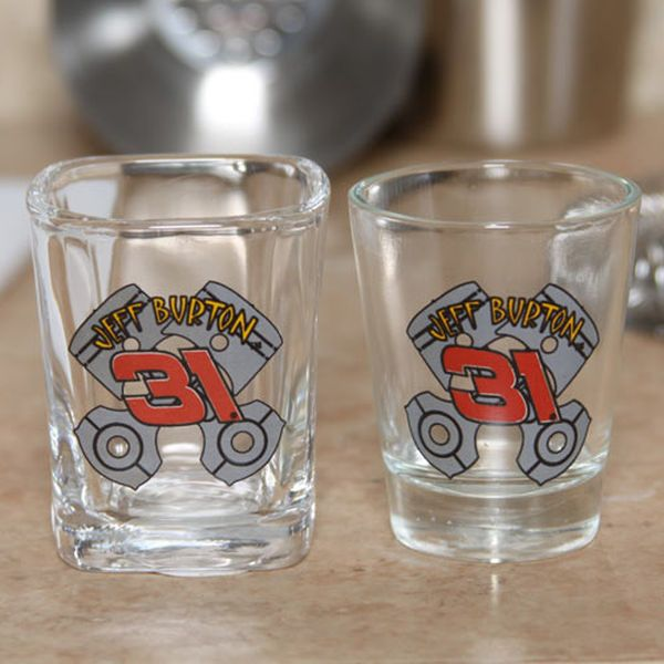 Jeff Burton Fireshield 2-Pack 2oz. Shot Glass Set - $4.99