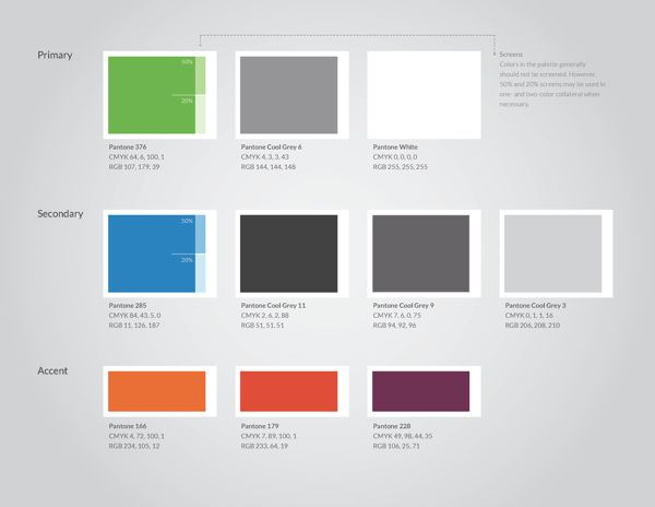 Infusionsoft Brand Guidelines by Jason Plummer, via Behance