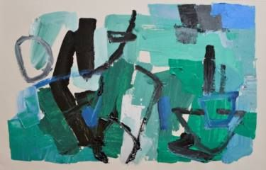 "Saatchi Art Artist Tapas Roy; Painting, ""Untitled-15"" #art"