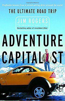 JIM ROGERS - Adventure Capitalist: The Ultimate Road Trip - ** Brand New **
