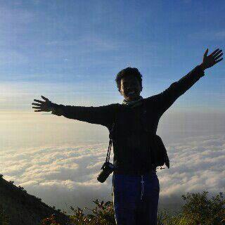 My beloved son's, Merbabu Peak's, may 29th, 2015