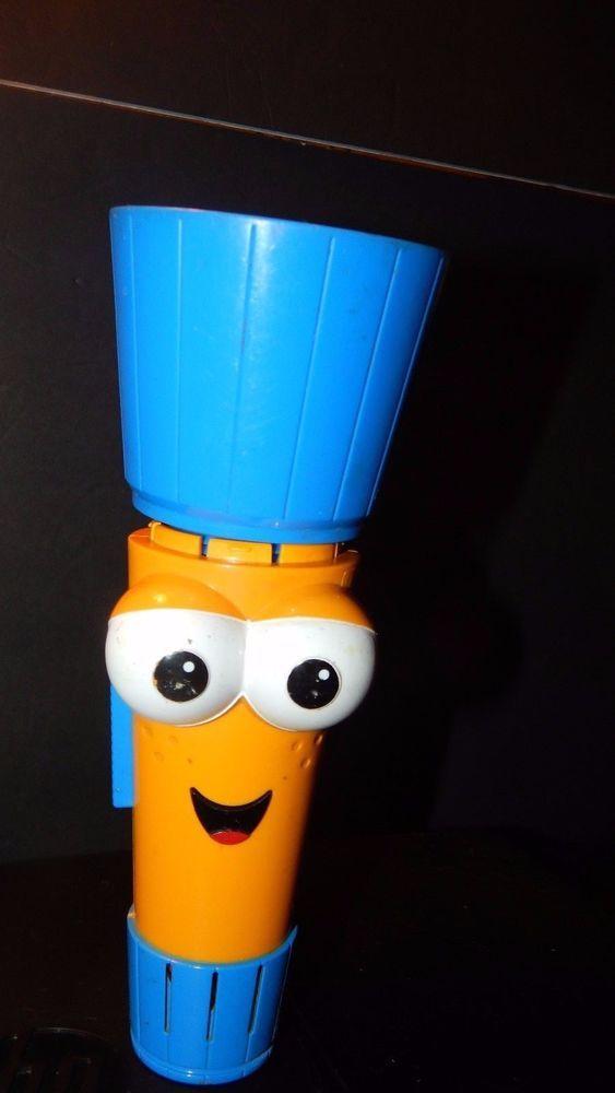 Handy Manny Flicker Flashlight Toy Sounds English Spanish Flexible Needs Bulb #Disney