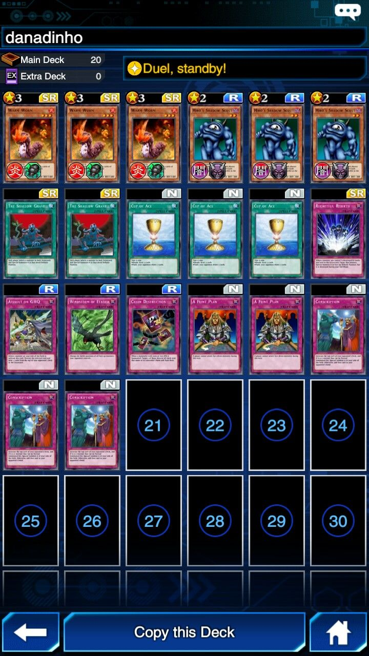 Recommended Links Yugioh Duel Link Deck ...