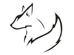 Image result for fox tattoo tribal