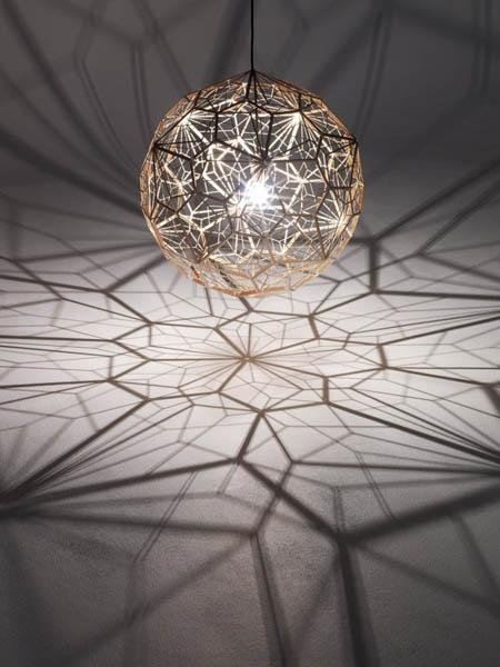 Sacred Geometry light. pendant light that creates amazing shadows