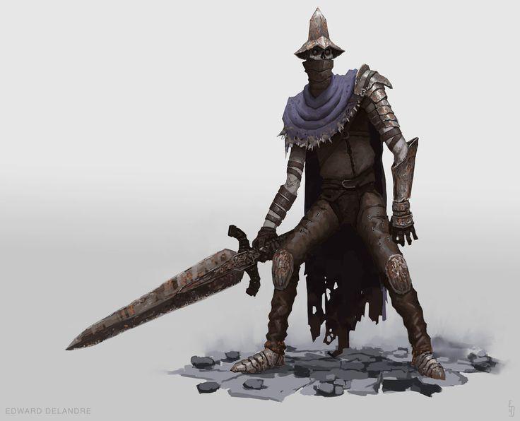 Farron's undead Legion Abyss Watchers by EdwardDelandreArt.deviantart.com on @DeviantArt
