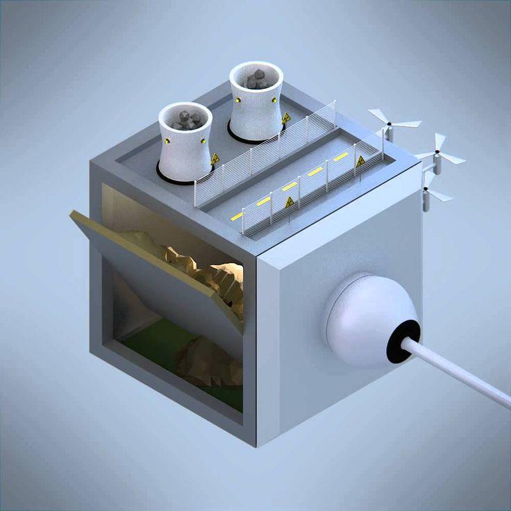 Blender Isometric Cube