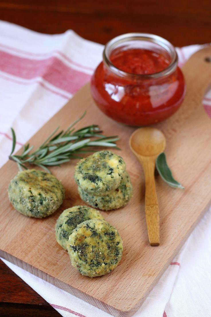 Scopri come fare la ricetta della polpette di rictta e spinaci con gli ingredienti Bonduelle!
