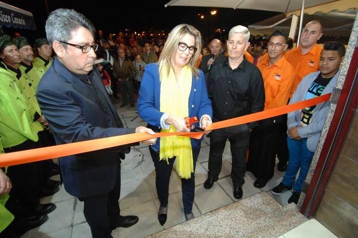 Inauguración del Restaurante La Rubia