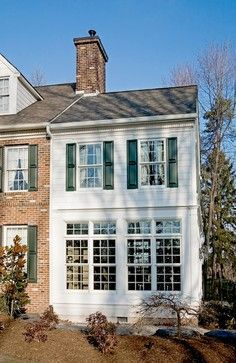 208 best images about additions on pinterest garage for Colonial home additions