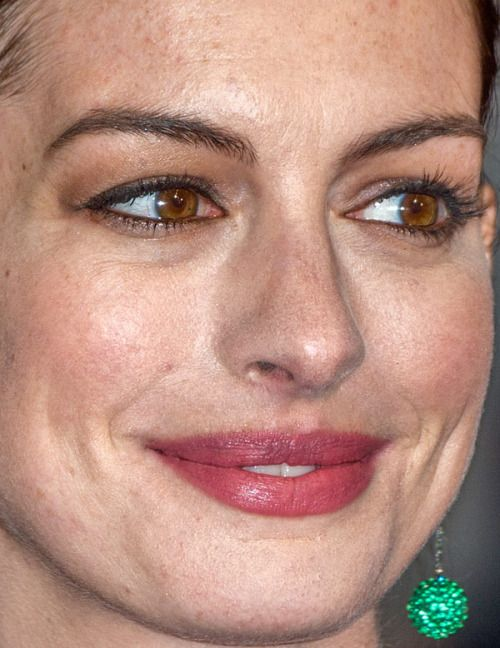 Anne Hathaway Anne Hathaway Red Carpet Makeup Celebrity