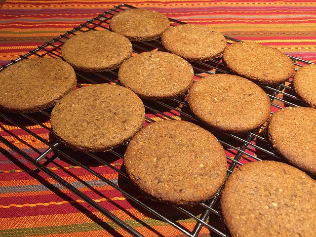 Овсяное печенье с фундуком: weaverine