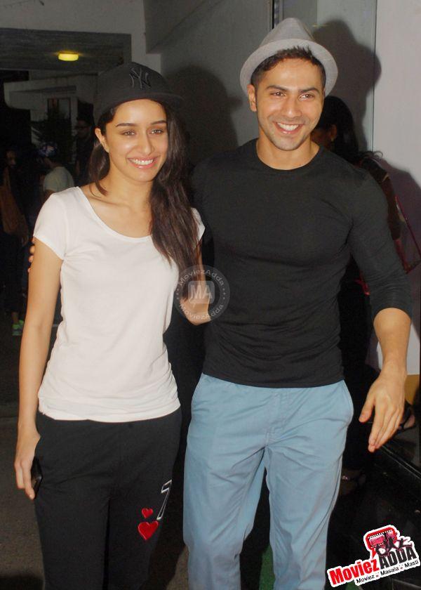 Shraddha Kapoor and Varun Dhawan at #FindingFanny special screening