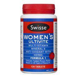 Buy Swisse Women's Ultivite Formula 1 120.0 tablets Online | Priceline
