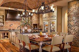 Шикарная кухня