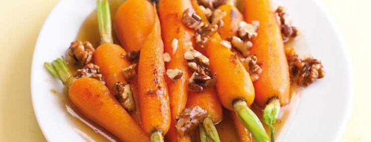 Medová mrkev s ořechy