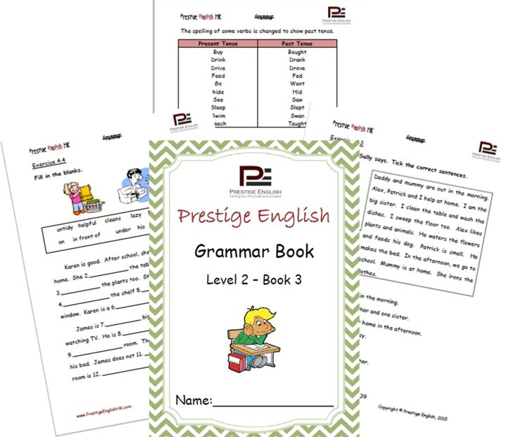 English Grammar Book – Level 2 – Book 3