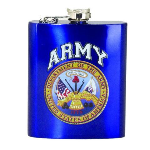 Hip Flask - Army – The Gift Spot