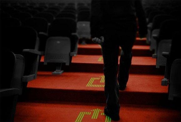 Hoe gaaf is dat op je #evenement: tapijt met LED-verlichting!