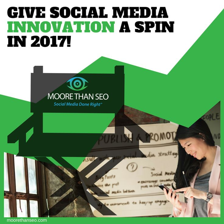 Tip #15 of our New Year's Countdown: Give the newest digital marketing innovations a whirl for improved brand positioning in 2017. For instance, consider integrating Facebook Live Video marketing into your overall marketing plan: http://www.moorethanseo.com/social-media-management-2/facebook-marketing-for-business/facebook-live-video-business-social-media-marketing-steroids/