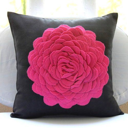 120 best Black Pillows Cushions images on Pinterest