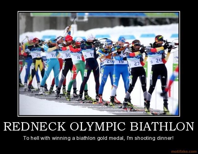 REDNECK OLYMPIC BIATHLON